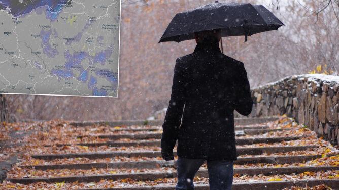 Pogoda na 5 dni: Będzie prószyć śnieg. Z każdym dniem coraz chłodniej