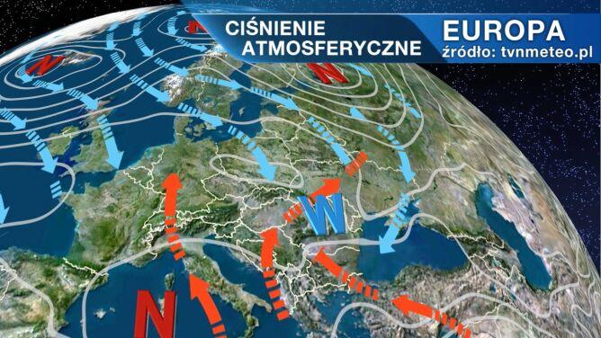 Pogodą w Polsce rządzi niżu Quinta