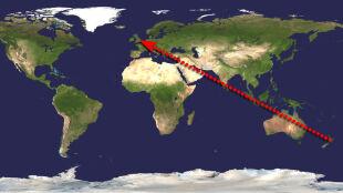 Technologia nie zna granic: sygnał SOS przebył 18 tysięcy kilometrów
