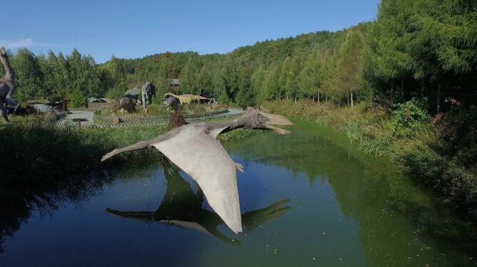 Park jurajski, wioska czarownic, kopalnia i stok narciarski. W Bałtowie nie sposób się nudzić