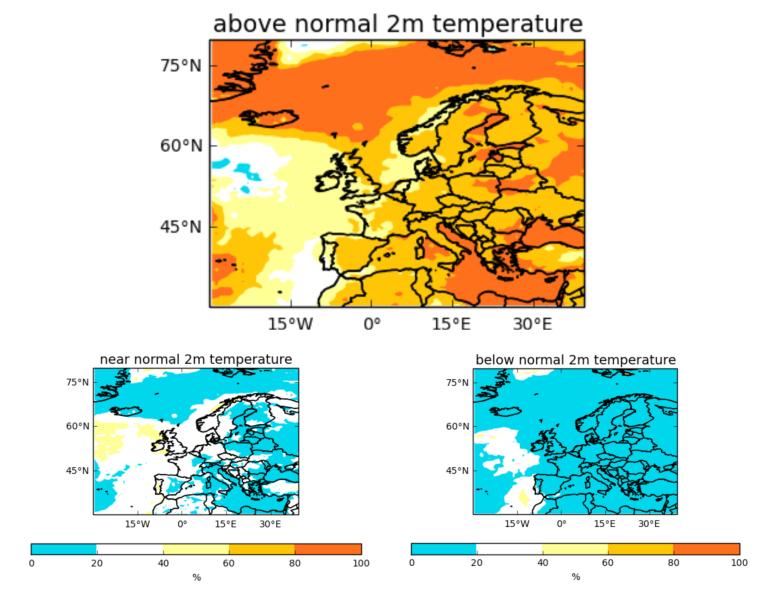 Odchylenie temperatury od średniej (MetOffice)