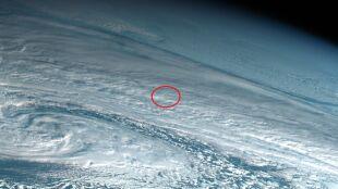 Potężna eksplozja meteoru w ziemskiej atmosferze