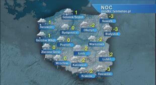 Prognoza pogody na noc 29/30.11