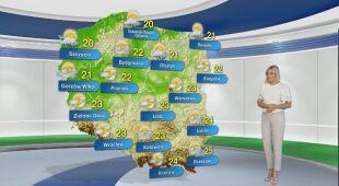Prognoza pogody na poniedziałek 19.07